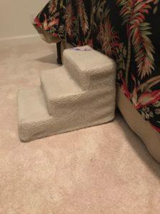 plastic dog stairs